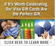Visa Gift Card ad